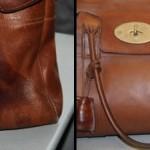 Чанта - Преди и след обработката