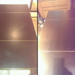 Кожена маса - Преди и след обработката